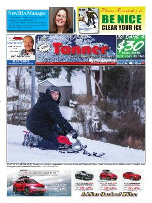 New Tanner (Acton, ON), 11 Jan 2018