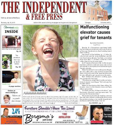 Independent & Free Press (Georgetown, ON), 18 Jul 2013