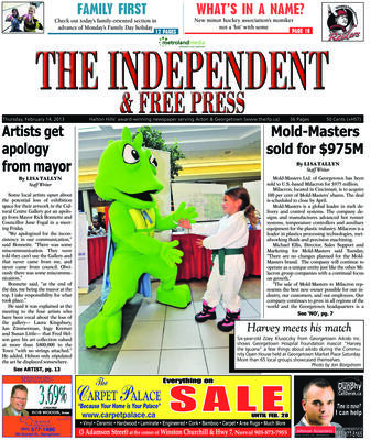 Independent & Free Press (Georgetown, ON), 14 Feb 2013