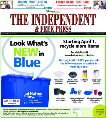 Independent & Free Press (Georgetown, ON), 28 Mar 2013