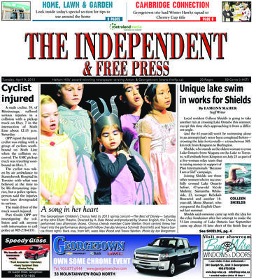 Independent & Free Press (Georgetown, ON), 9 Apr 2013