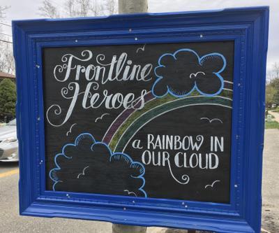 Frontline Heroes Sign