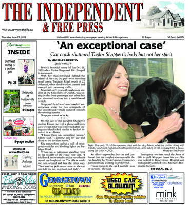 Independent & Free Press (Georgetown, ON), 27 Jun 2013