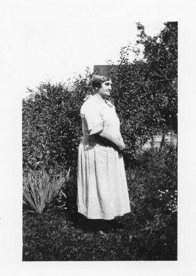 Sarah Shepherd in Garden