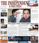 Independent & Free Press (Georgetown, ON), 20 Nov 2014