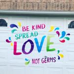 Garage Door With A Message