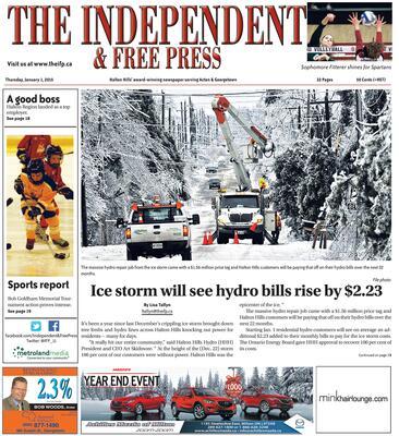 Independent & Free Press (Georgetown, ON), 1 Jan 2015
