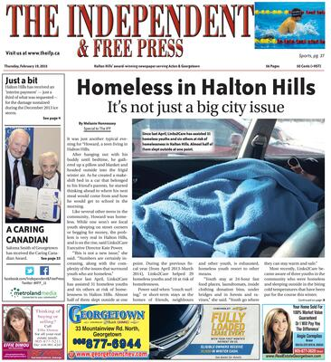 Independent & Free Press (Georgetown, ON), 19 Feb 2015