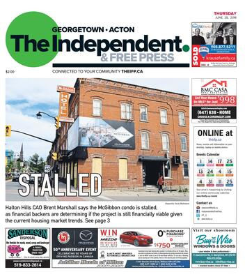 Independent & Free Press (Georgetown, ON), 28 Jun 2018