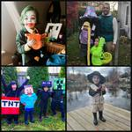 Acton BIA Halloween Costume Contestants