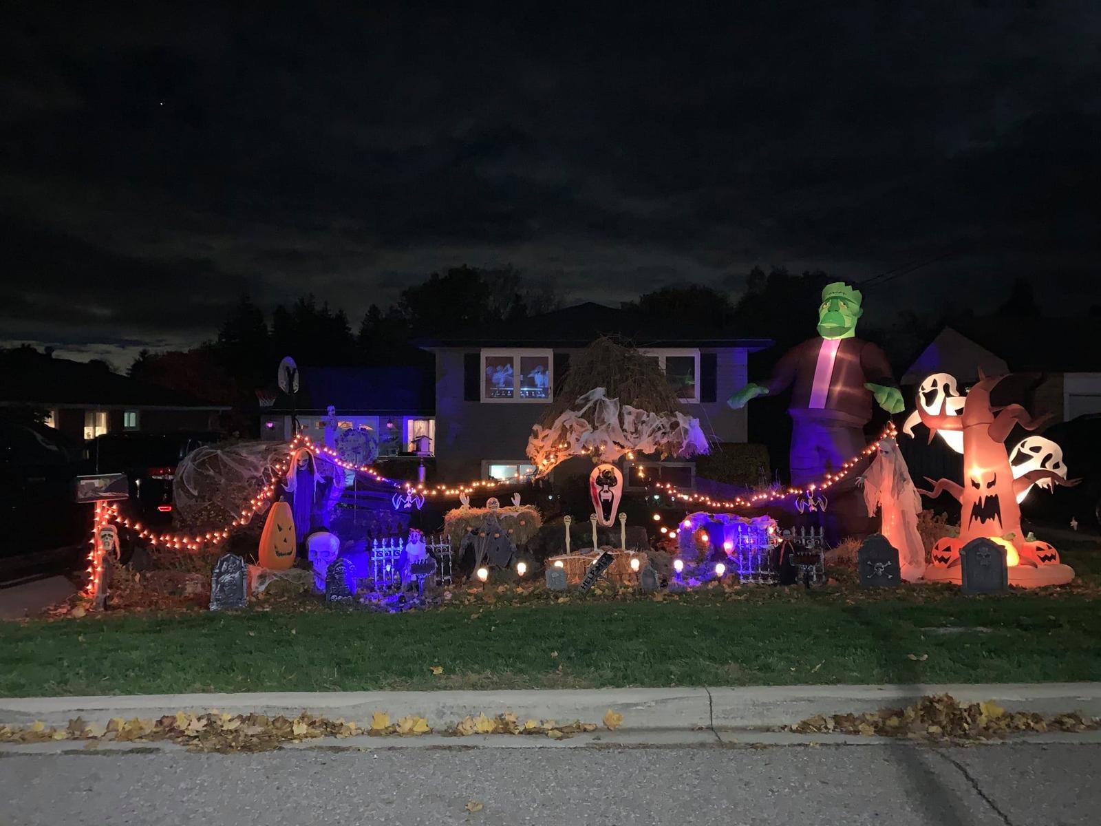 Acton BIA Halloween House Decorating Contest Winner
