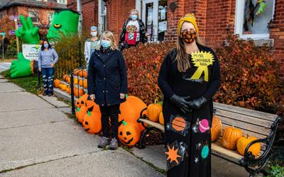 Pumpkin Giveaway and Promenade at Royal LePage Escarpment Realty