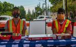 Volunteers at Acton Farmers' Market