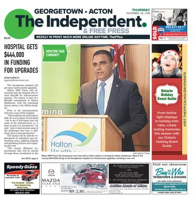 Independent & Free Press (Georgetown, ON), 26 Dec 2019