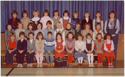 Gr 3 Class at Sacre Coeur 1979