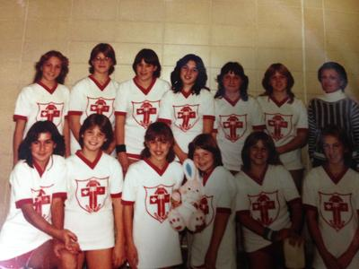 Sacre Coeur Girls Volleyball team 1983-84