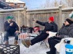 Pique-nique d'hiver