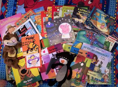 Notre collection de livres pour enfants en français