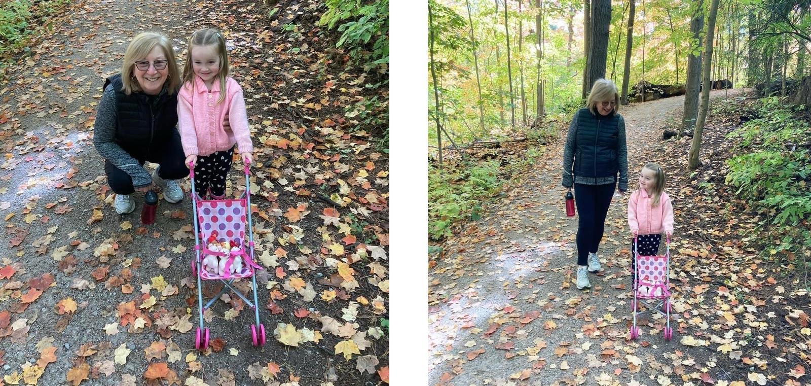Se promener dans les bois