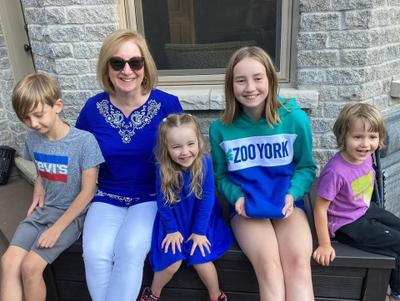 Mes quatre petits-enfants
