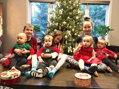 All 8 of my bilingual grandkids
