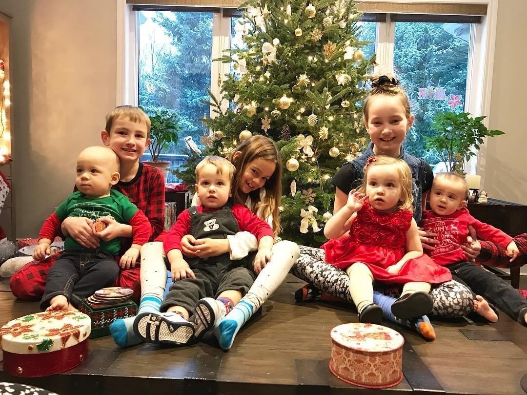 All 8 of my bilingual grandkids