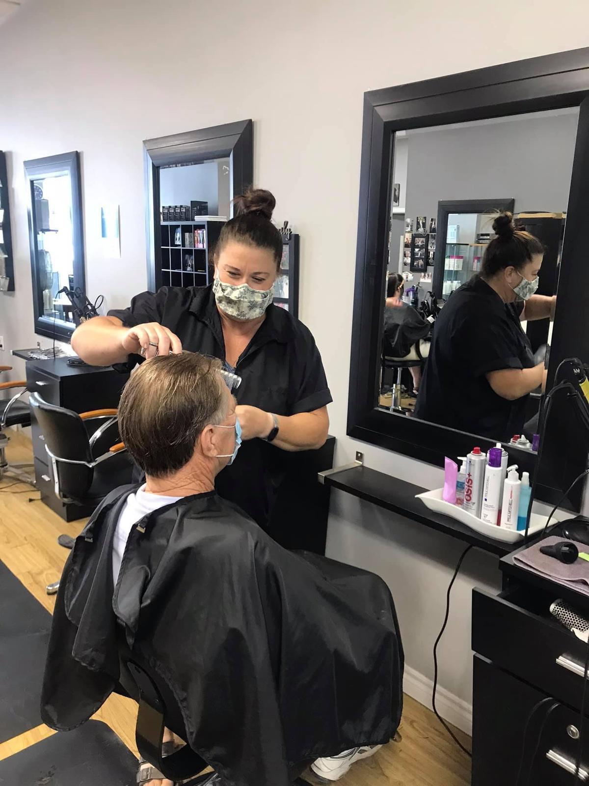 Step 2 Reopening Haircut!