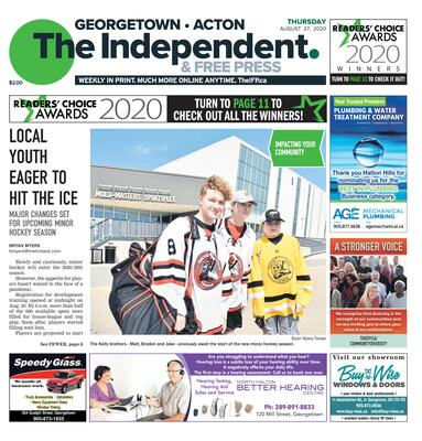 Independent & Free Press (Georgetown, ON), 27 Aug 2020