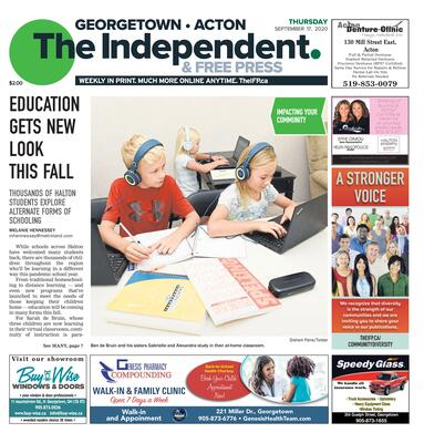 Independent & Free Press (Georgetown, ON), 17 Sep 2020