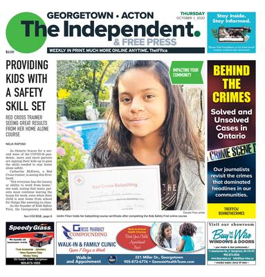 Independent & Free Press (Georgetown, ON), 1 Oct 2020
