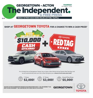 Independent & Free Press (Georgetown, ON), 8 Oct 2020