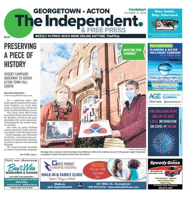 Independent & Free Press (Georgetown, ON), 15 Oct 2020