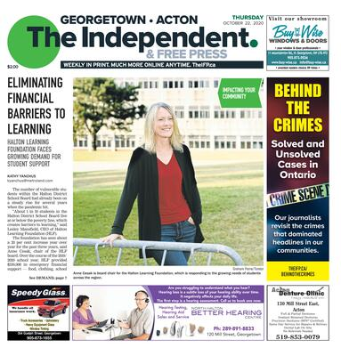 Independent & Free Press (Georgetown, ON), 22 Oct 2020