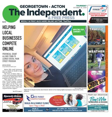 Independent & Free Press (Georgetown, ON), 29 Oct 2020