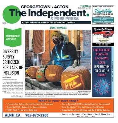 Independent & Free Press (Georgetown, ON), 5 Nov 2020