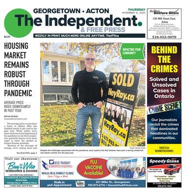 Independent & Free Press (Georgetown, ON), 12 Nov 2020