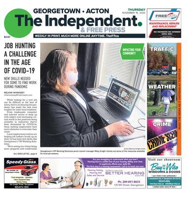 Independent & Free Press (Georgetown, ON), 19 Nov 2020