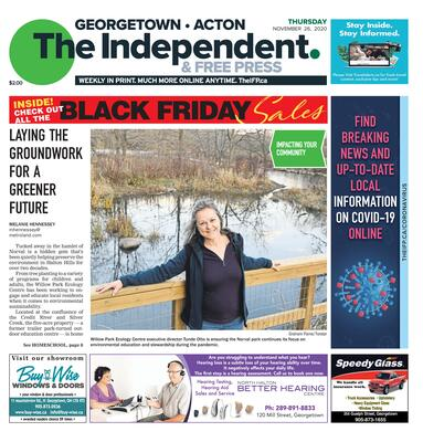 Independent & Free Press (Georgetown, ON), 26 Nov 2020
