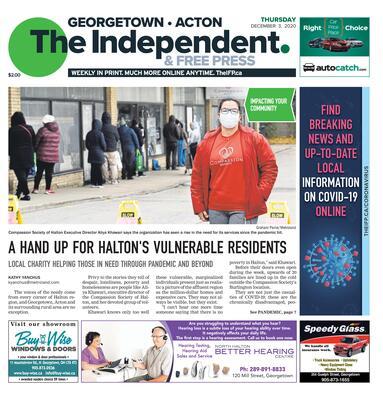Independent & Free Press (Georgetown, ON), 3 Dec 2020