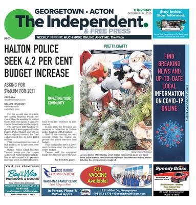 Independent & Free Press (Georgetown, ON), 10 Dec 2020