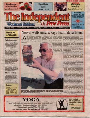 Independent & Free Press (Georgetown, ON), 14 May 1999