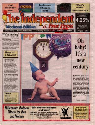 Independent & Free Press (Georgetown, ON), 1 Jan 2000