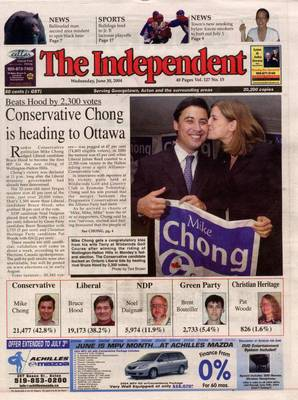 Independent & Free Press (Georgetown, ON), 30 Jun 2004