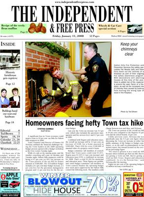 Independent & Free Press (Georgetown, ON), 11 Jan 2008