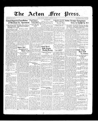 Acton Free Press (Acton, ON), 4 Feb 1937