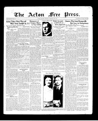 Acton Free Press (Acton, ON), 11 Feb 1937