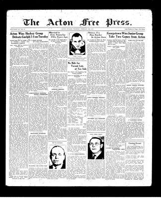 Acton Free Press (Acton, ON), 18 Feb 1937