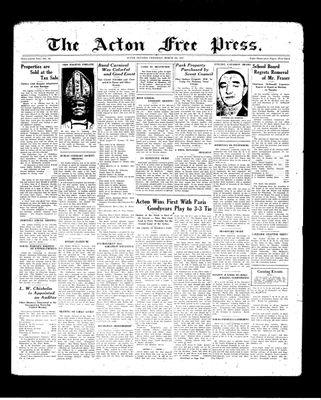 Acton Free Press (Acton, ON), 4 Mar 1937