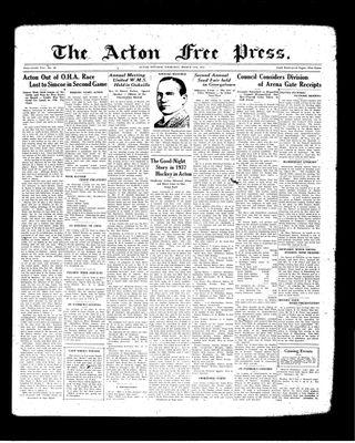 Acton Free Press (Acton, ON), 18 Mar 1937