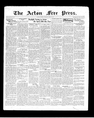Acton Free Press (Acton, ON), 1 Apr 1937
